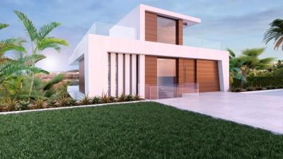 New build, 4 bedroom, 3 bathroom villa at La Resina Golf and Country Club, Estepona