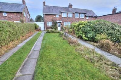 Ince Road, Thornton - a delightful cottage style semi detached house, long front garden and driveway - semi rural views over fields, large rear garden.