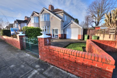 Mayfair Avenue, Crosby - quiet cul-de-sac, heart of Crosby, close to the Village, large plot, driveway, garage, well proportioned rooms.