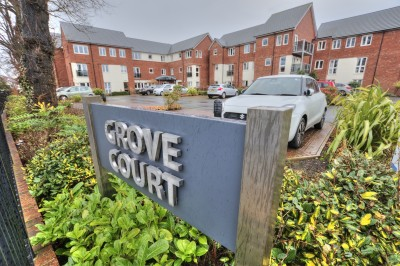 Grove Court, Moor Lane, Crosby - second floor retirement apartment (over 60's), heart of Crosby, close to all amenities, beautifully presented, lift, secure gated parking.