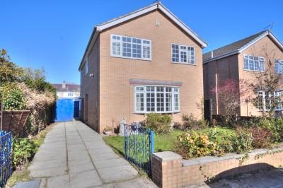 Detached house for sale Moor Close, Crosby, cul-de-sac, school catchment area, no chain, driveway, garage, gardens, 4 bedrooms, conservatory
