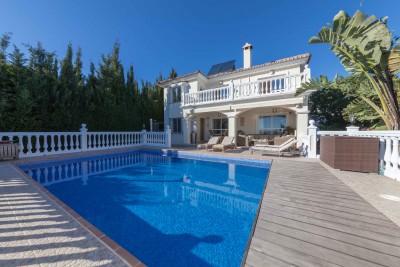 Detached villa for sale at Campo de Mijas