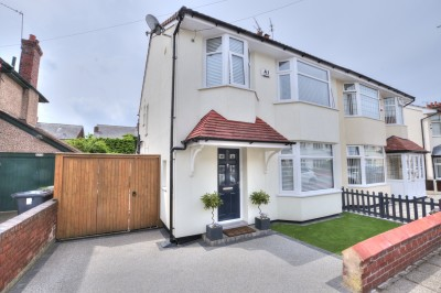 Mornington Avenue, Crosby, quality semi detached house, close to schools & shops, beautifully presented, 3 bedrooms, sunny rear garden, parking.
