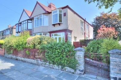 Hatherley Avenue, Crosby, semi detached family house, 4 bedrooms, parking, garage, corner plot, close to schools, close to local shops, no chain.