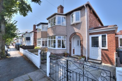 Lancaster Avenue, Crosby, extended semi detached house, well presented throughout, close to shops & schools, no chain, parking, pleasant rear garden.