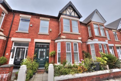 Ashdale Road, Waterloo, spacious character terraced house, close to schools and shops, 4 bedrooms, well presented.