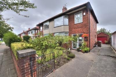 Brownmoor Lane, Crosby, close to shops & schools, large mature garden, 3 bedrooms, driveway, garage.