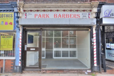 Coronation Road, Crosby, shop premises to let, 2 rooms (can be made into 1), unfurnished, available immediately.