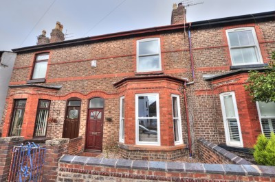 Victoria Road, Crosby, character terraced house, 3 bedrooms, close to Village, garden to rear, no chain.