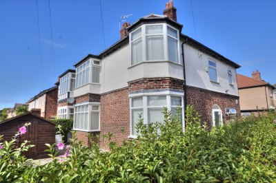 Hatherley Avenue, Crosby, spacious character semi detached house, 4 bedrooms, corner plot, garage, gardens, close to schools & shops, no chain.