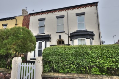 Rossett Road, Crosby, one bedroom first floor flat, well presented, close to shops, amenities & railway station.