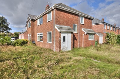 Park Road, Formby, semi detached house, corner plot, no chain, requires updating, close to schools & shops, driveway, garage,