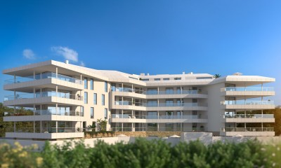 New development of 1, 2 and 3 bedroom apartments at Torreblanca, Fuengirola