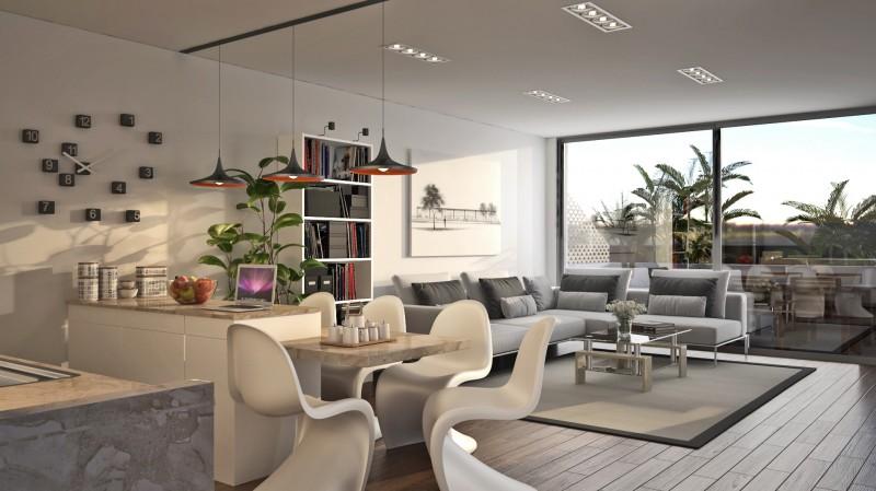 Interior 1 - Cocina_salon