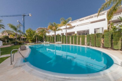 2 bedroom garden apartment for sale at Cortijo del Mar on Estepona's New Golden Mile
