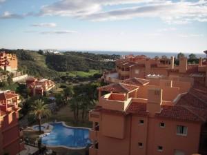 Beautiful views from solarium terrace