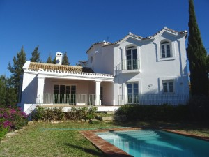 1322 - Villa For rent in Elviria, Marbella, Málaga, Spain