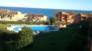 El Faro ground floor 2 bed apt. with great sea views.