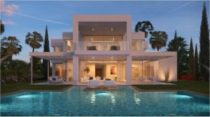 Modern villas in exclusive gated community