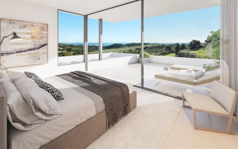 RENDER - INTERIOR -MAIN BEDROOM - DORMITORIO PRINCIPAL