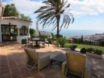 Breathtaking sea views to Africa and Gibraltar from this well presented villa.