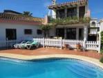 Pleasant, detached villa, in a quiet location, close to the centre of La Cala and the beach.