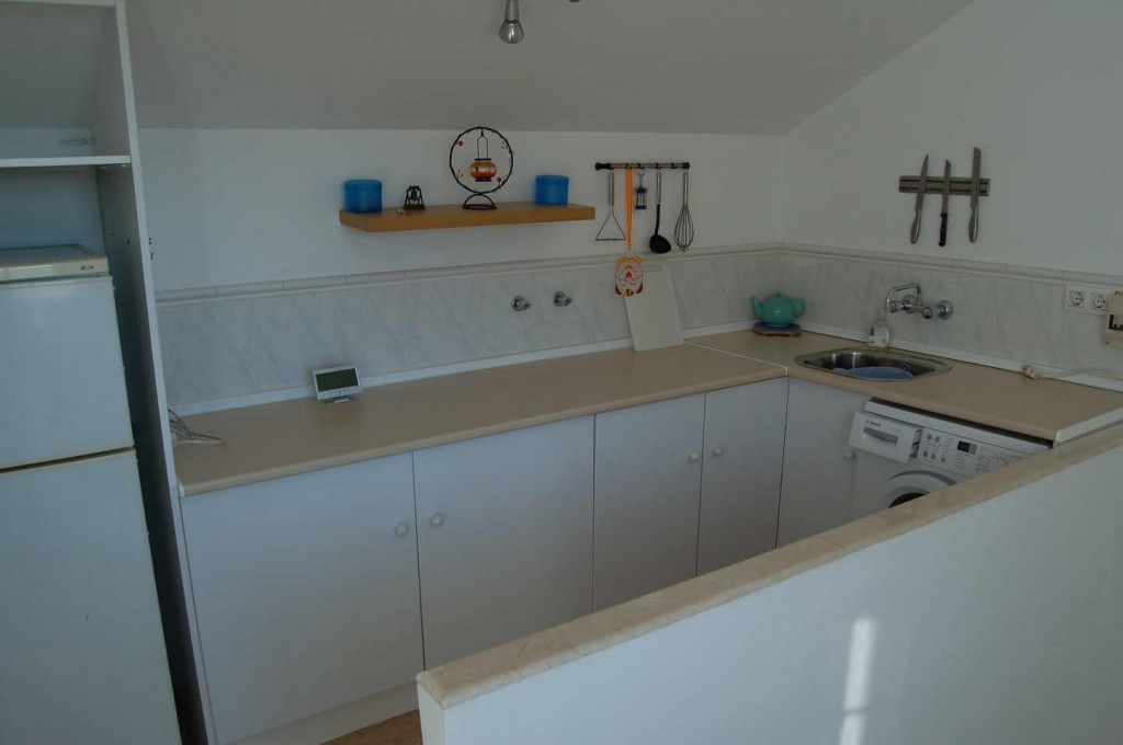 roof terrace laundry room/kitchen