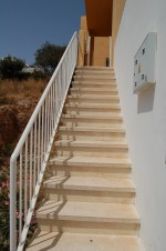 Stairs to house