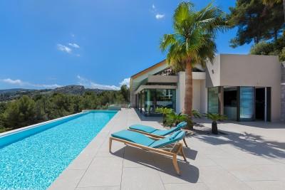 Wunderschöne brandneue Villa kaufen in Son Vida, Mallorca