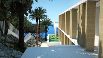 Villa en primera línea de mar en venta en Sol de Mallorca