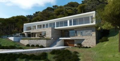 Impresionante proyecto de villa moderna en venta en Sol de Mallorca