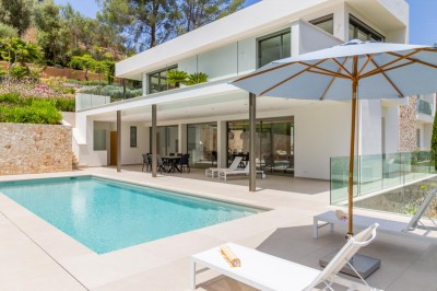 Luxuriöse moderne Villa kaufen in Son Vida, Mallorca