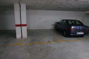 Parkeerplaats in Torrox Costa