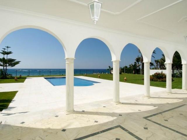 Luxury Beachfront Villa for Sale in Guadalmina Baja, Marbella