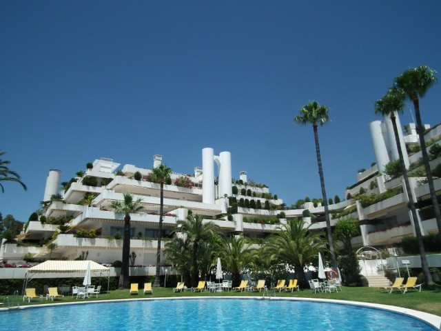 Exclusive Luxury Apartment For Sale in The Golden Mile, Marbella