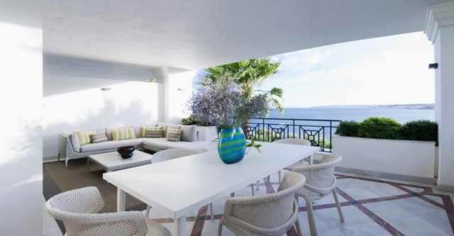 Beachfront Apartment for Sale in Estepona, Costa del Sol