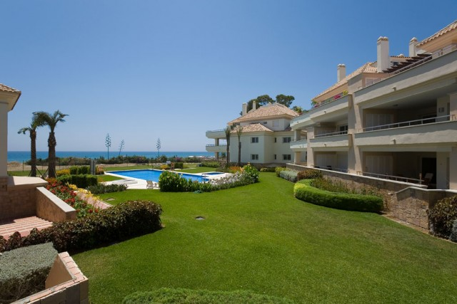 Stylish Beach Apartment for Sale in Guadalmansa Playa, Estepona