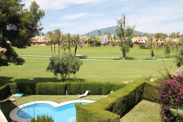 Frontline Golf Townhouse for Sale in Guadalmina Alta, Marbella