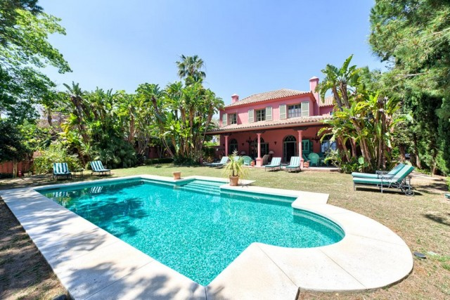Colonial Villa for Sale in Las Chapas, Marbella
