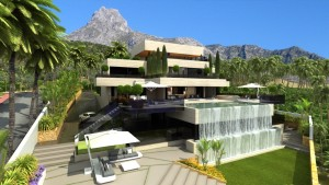 Modern Villa For Sale In Sierra Blanca, Marbella.
