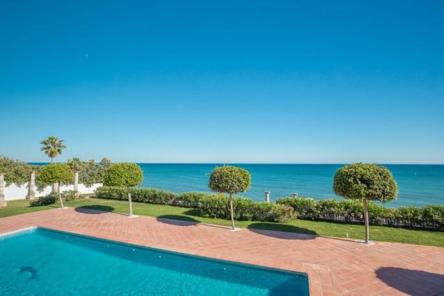 Frontline Beach Villa for Sale in New Golden Mile, Estepona