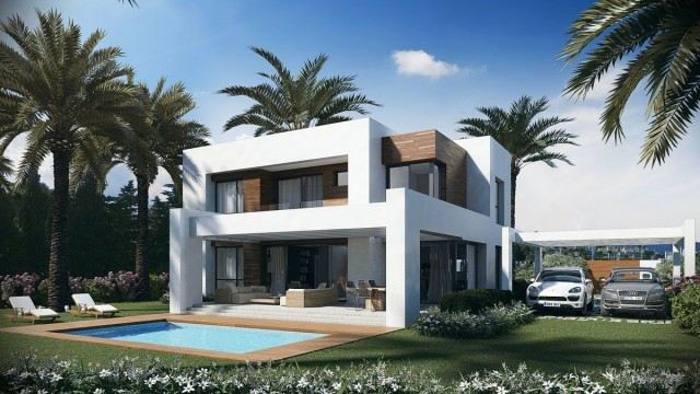 New Contemporary Villa for Sale in New Golden Mile, Estepona