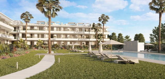 Contemporary Apartment for Sale in New Golden Mile, Estepona