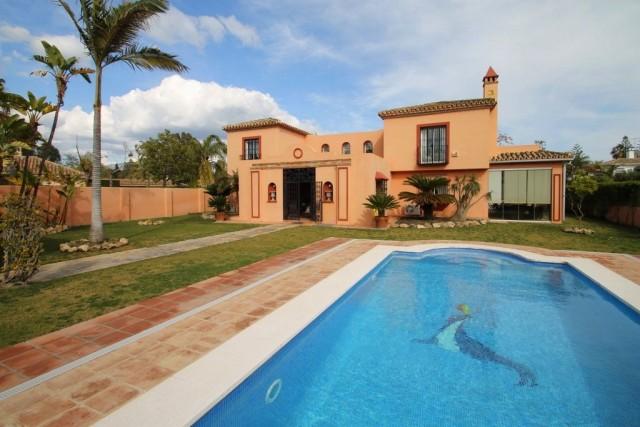 Exclusive Beachside Villa for Sale in Guadalmina Baja, Marbella