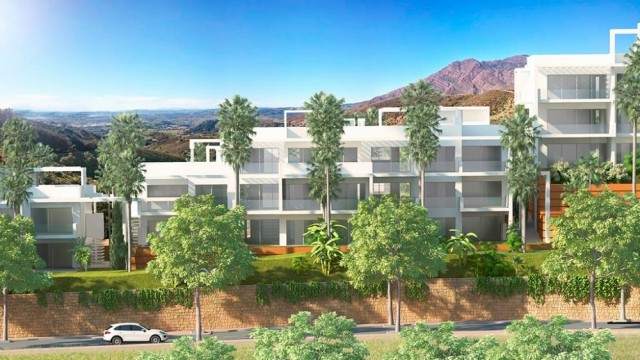 New Stylish Apartment for Sale in Estepona, Costa del Sol