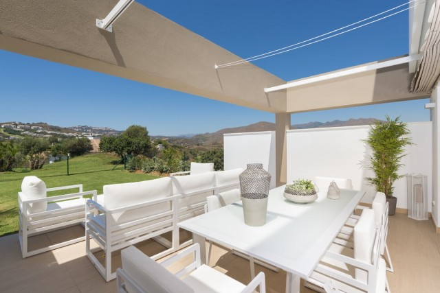Frontline Golf Townhouse in La Cala Golf, Mijas Costa