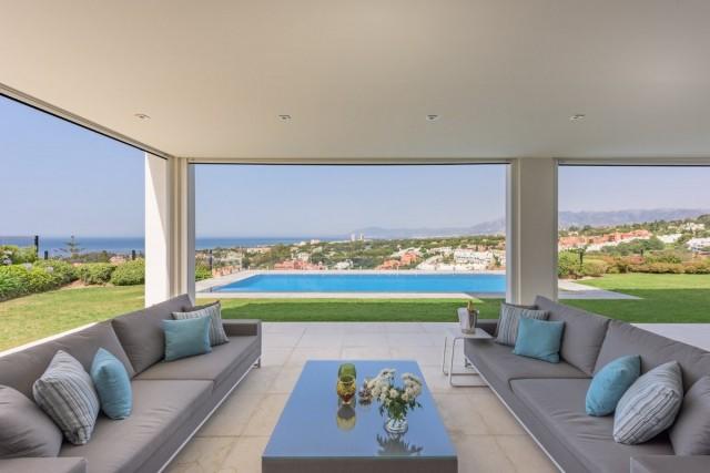 Frontline Golf Villa for Sale in Cabopino, Marbella