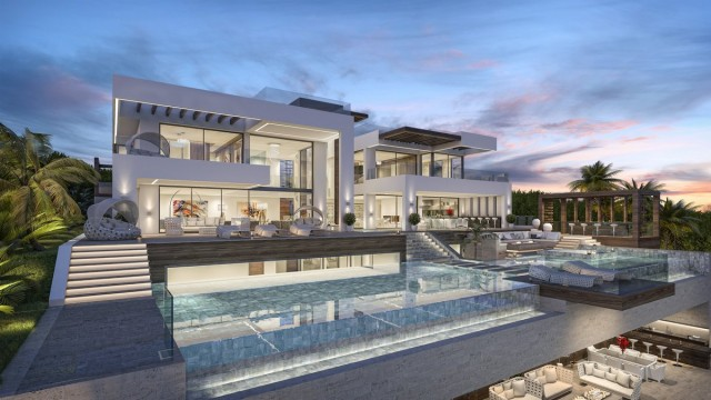 Contemporary villa for sale in nueva andalucia marbella for Maison de luxe interieur