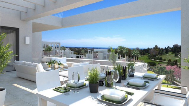 Contemporary Apartment for Sale in Atalaya, Estepona