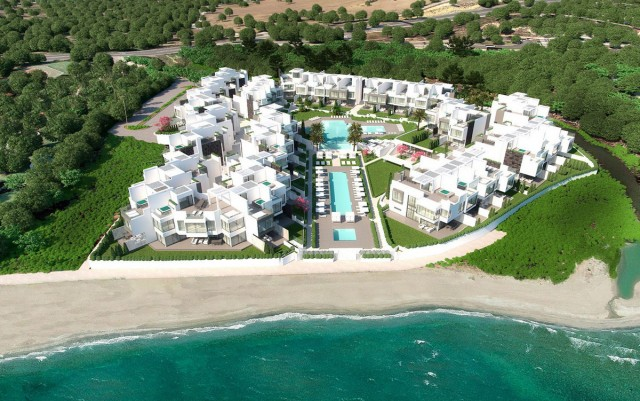 Frontline Beach Townhouse for Sale in Estepona